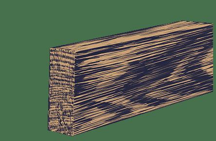 трехслойный клееный брус