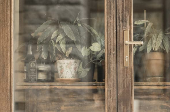 Деревянные евроокна из сосны со стеклопакетом